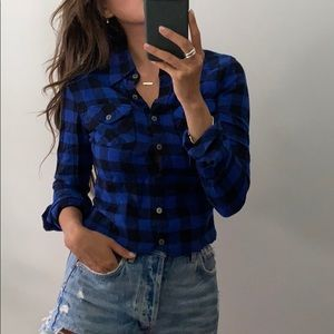TNA classic fit flannel